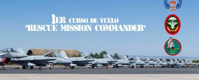 Primer curso de vuelo Rescue Mission Commander