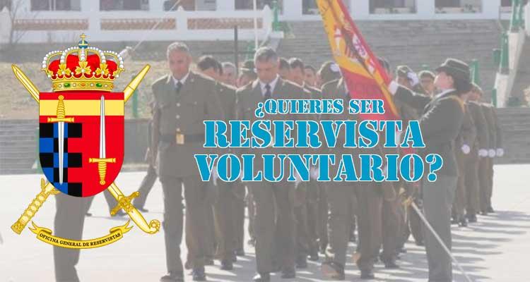 como ser reservista voluntario del ejército español