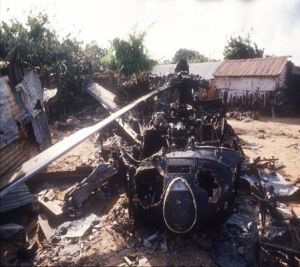 Black Hawk derribado en Mogadisicio