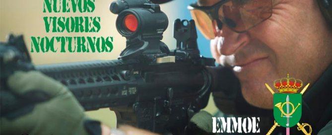 Visor nocturno de punto rojo modelo CompM5 Aimpoint. VetPac Veteranos Paracaidistas de España