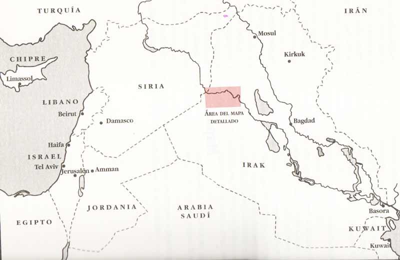 Mapa de localización Bravo Two Zero