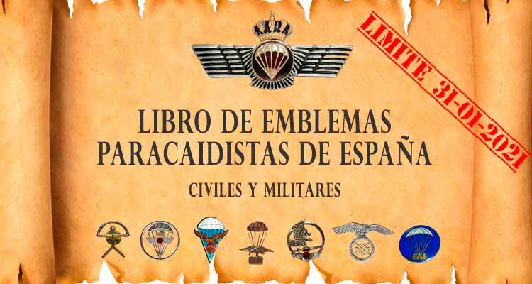 ibro-de-emblemas-paracaidistas-de-España