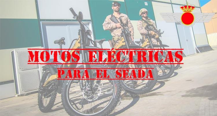 motos eléctricas para el ejecito del aire