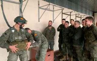 Formación curso paracaidista EPA en Ukrania. VetPac