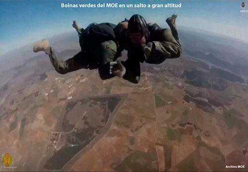 Salto HALO del MOE