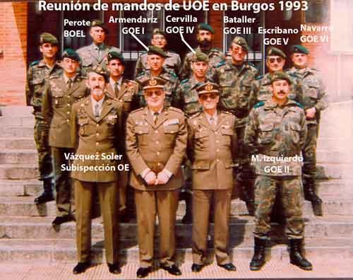 Subinspección de OE en 1985