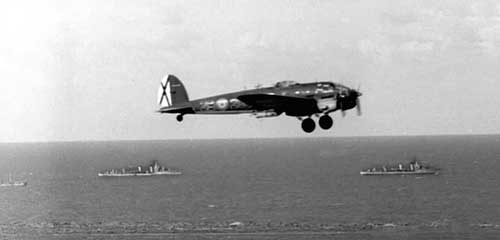 El apoyo áereo y naval en Operación Pegaso