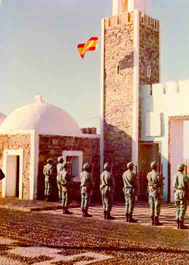 La VII Bandera la primera unidad de la Legión en abandonar el Sahara