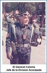 General Jefe de la División Acorazada D. Julio Coloma