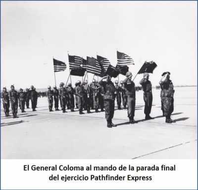 Ejercicio Operacción Pathfinder. General Coloma