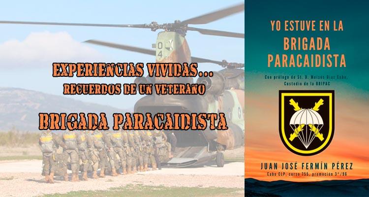 Libro yo estuve en la Brigada Paracaidista