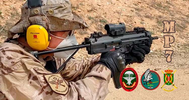 Portada nuevo subfusil MP7 para el Ejército del Aire