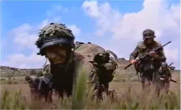 Instrucción de combate Brigada Paracaidista 2002