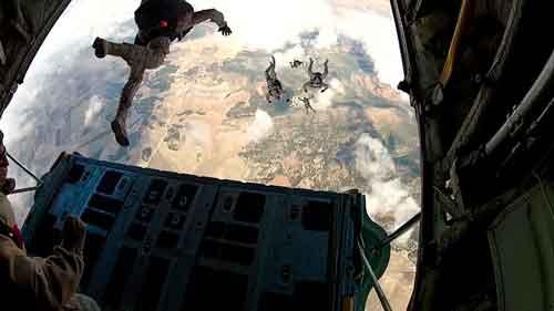 Curso paracaidista de Apertura Retardada