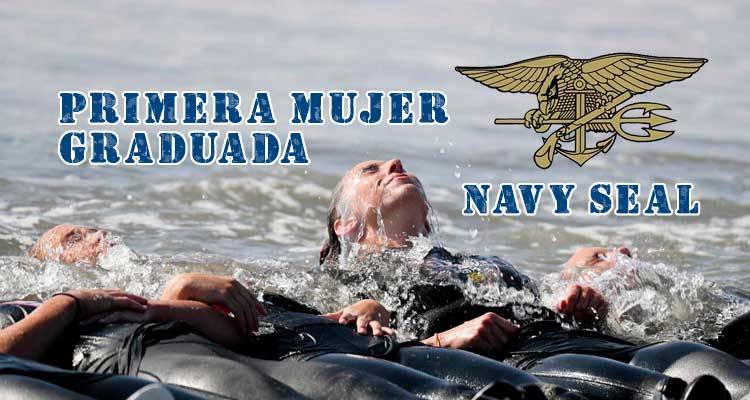 Primera mujer graduada Navy Seal