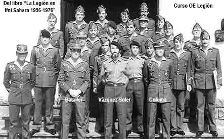 Curso de OE Legión