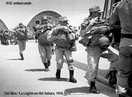 Legionarios en el Sáhara