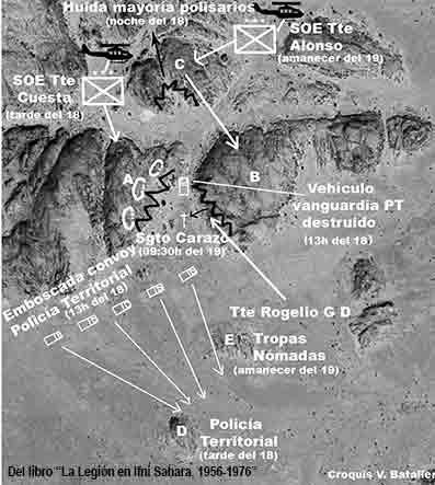 Mapa de Tifariti