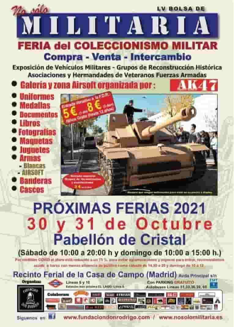 Feria Militaria Madrid 2021