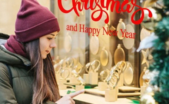 1033 Merry Christmas And Happy New Year Text Italian
