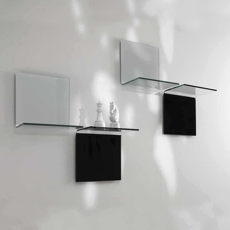 Mensole su misura, (mensole colorate, più precisamente mensole laccate) personalizzabili e di alta qualità,. Shelves Vetrotec The Art Of Glass Working Pesaro