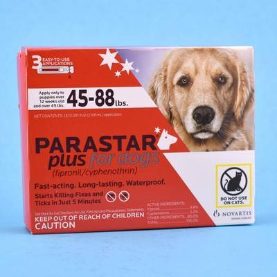Parastar Plus for Dogs - Fipronil/Cyphenothrin | VetRxDirect