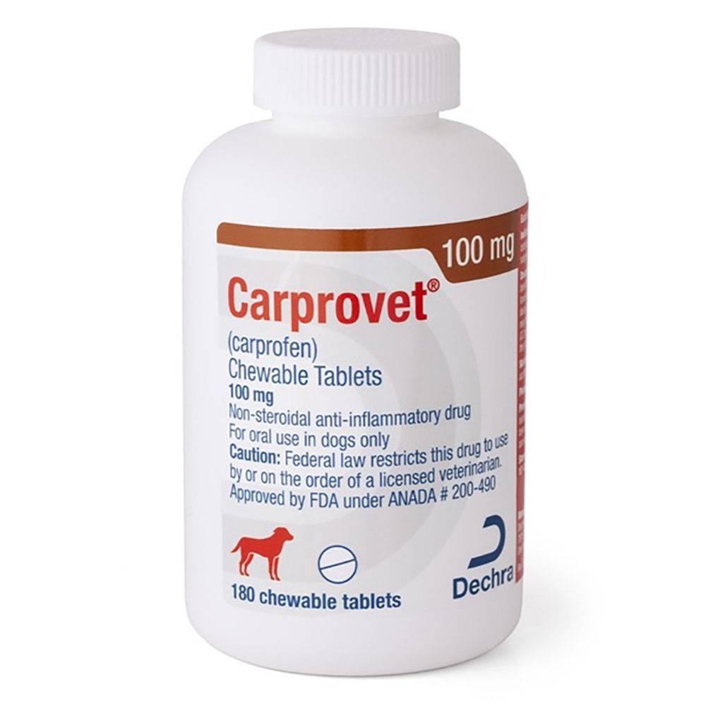 Carprovet Chewable Tablets for Dogs - Generic Carprofen ...