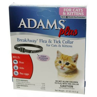 Adams Plus Flea and Tick Collar for Dogs and Cats ...