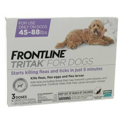 Frontline Tritak for Dogs - Kills Fleas Ticks | VetRxDirect