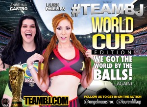 angelina castro, lauren phillips, team bj, world cup soccer