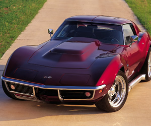 C3 Corvette Jigsaw Puzzles
