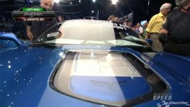 2010 Corvette ZR1 #001 at Barrett-Jackson