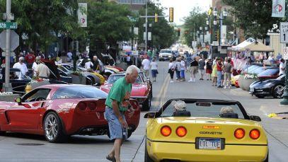 Hot Corvettes roll into Sioux Falls