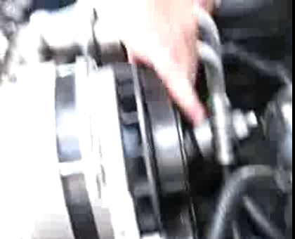 Corvette C4 Serpentine Belt Removal – Part2