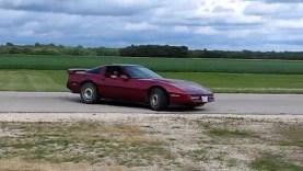 Breaking in a C4 Corvette