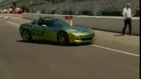 2008 Indy 500 Corvette Z06 Goes Green