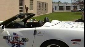 Green Corvette to Race