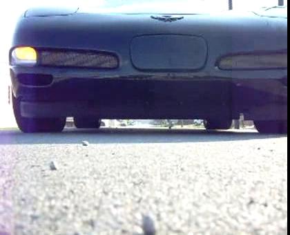 C5 Corvette Z06 Burnout