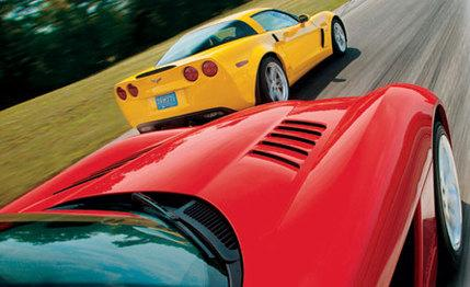 C6 Corvette ZO6 vs. 2003 Viper SRT-10