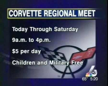 Corvette lovers gather in Waco – 2007