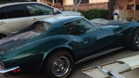 Firefighters Save Man's Prized 1970 Corvette from a House Fire