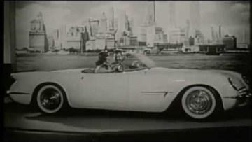 1953 Corvette Motorama Show Car (vintage footage)