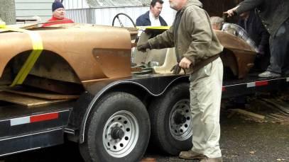 1961 Corvette Barn Find
