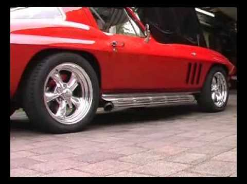 1966 C2 Corvette with VettePack Mufflers (Full Chambered)