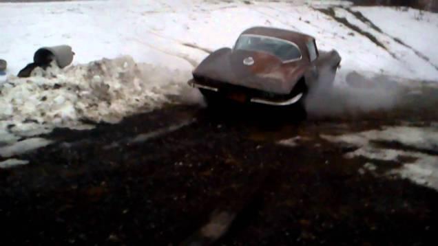 1966 corvette barn find
