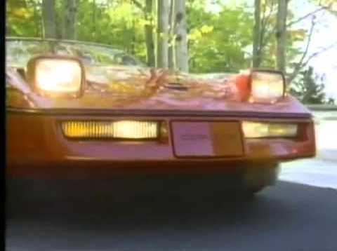 1984 Corvette Commercial