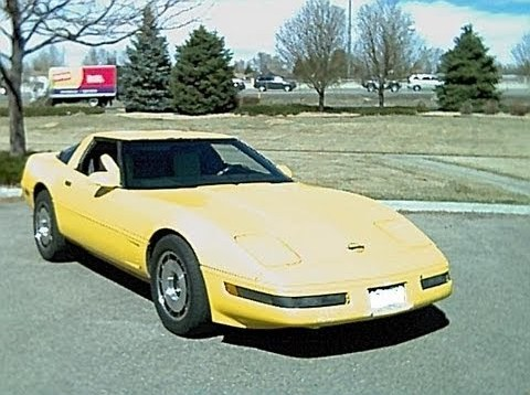 1986 Corvette C4 Roof Refinish / Repaint