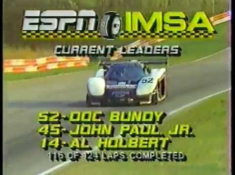 1986 IMSA Road Atlanta – Corvette GTP 1st Win
