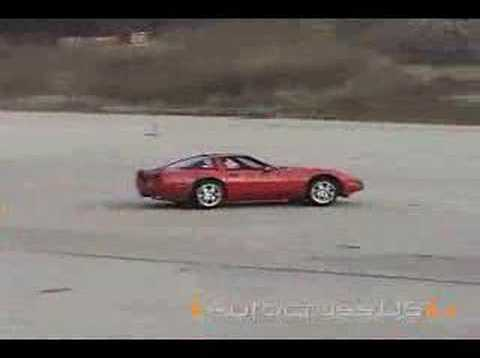 1991 ZR-1 Corvette Autocrossing at Pungo, VA