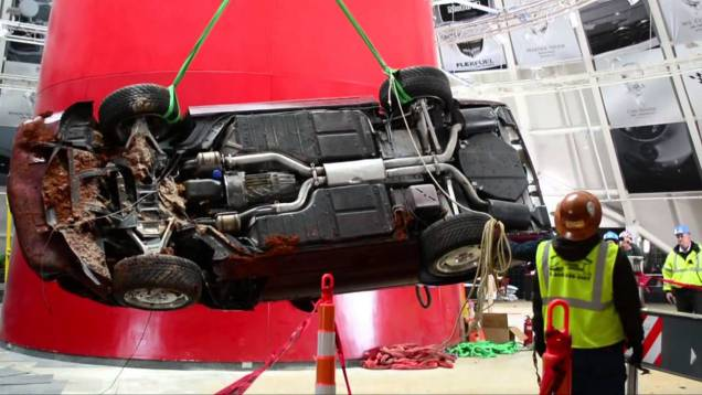 1993 40th Corvette Recovery – National Corvette Museum